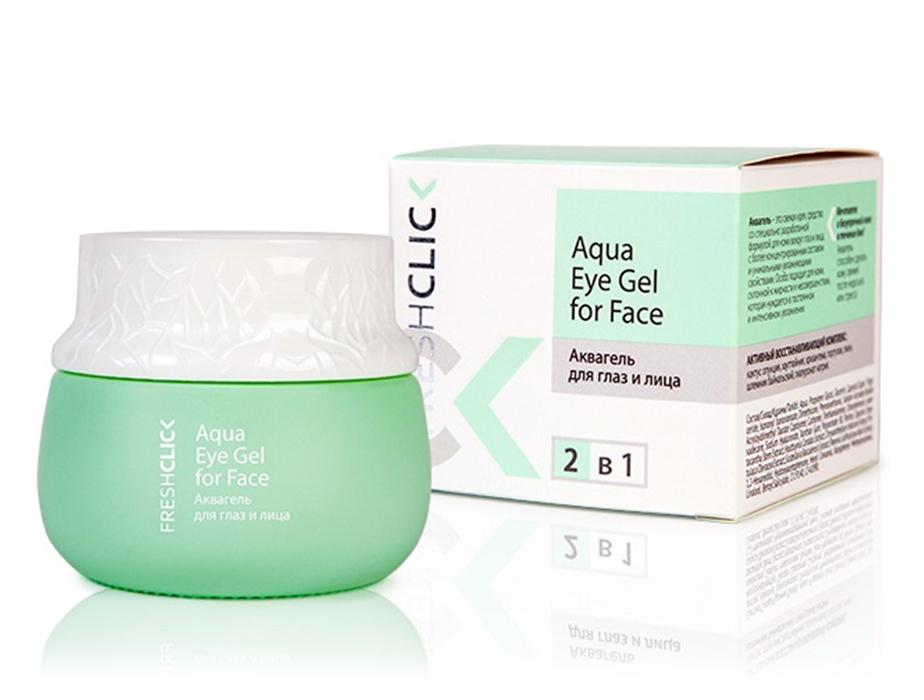 Аквагель для глаз и лица TianDe Fresh Click Aqua Eye Gel For Face, 65г - Фото №2