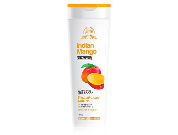 Шампунь для волос «Индийское манго» TianDe Hainan Tao Indian Mango Shampoo, 400г - Фото №1