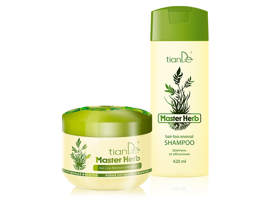 Набор от облысения TianDe Master Herb Hair-Loss Reversal Set