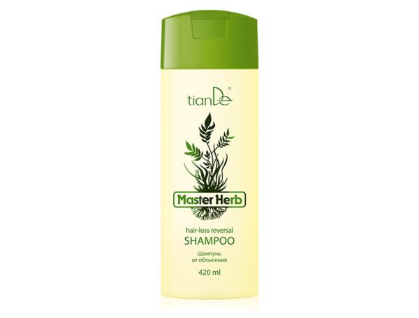 Шампунь от облысения TianDe Master Herb Hair-Loss Reversal Shampoo, 420мл - Фото №1