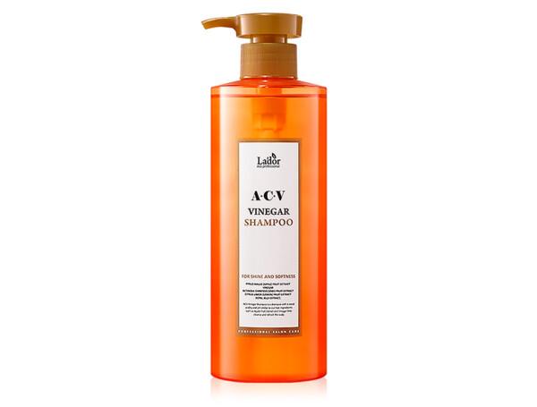 Глубокоочищающий шампунь с яблочным уксусом Lador ACV Vinegar Shampoo, 430мл - Фото №1