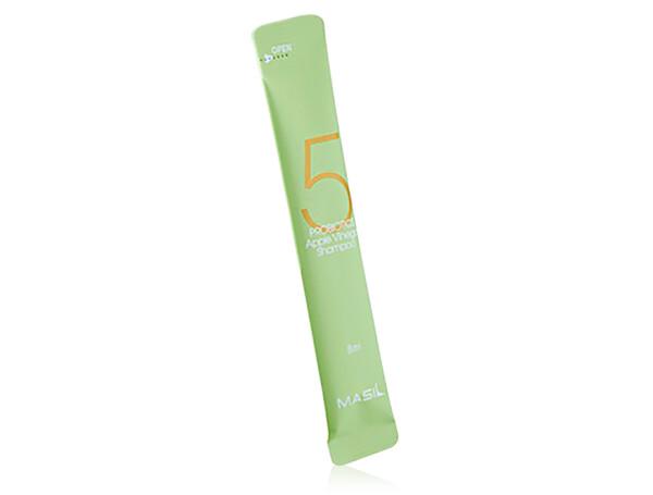 Шампунь для волос от перхоти с яблочным уксусом Masil 5 Probiotics Apple Vinegar Shampoo, 8мл - Фото №1