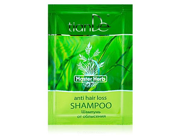 Шампунь от облысения TianDe Master Herb Hair-Loss Reversal Shampoo, 8мл - Фото №1
